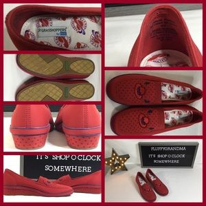 KEDS RED HAT GRASSHOPPERS